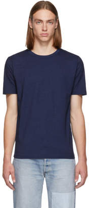 Levi's Levis Made and Crafted Indigo Cotton T-Shirt