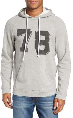 Frame Collegiate Graphic Pullover Hoodie