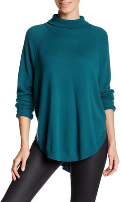 Magaschoni Cocoon Turtleneck Raglan Cashmere Sweater $398 thestylecure.com