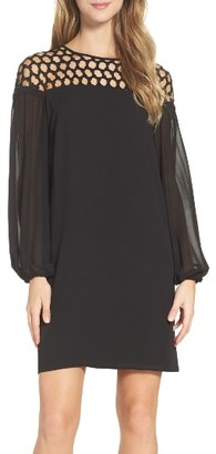 Women's Laundry By Shelli Segal Lace Shift Dress $195 thestylecure.com