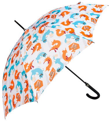 Dandyfrog Cats And Dogs Umbrella Large