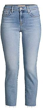 7 For All Mankind Women's Roxanne Luxe Vintage Ankle Skinny Jeans