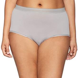 Warner's Women's Plus Size Breathe Freely Brief Panty