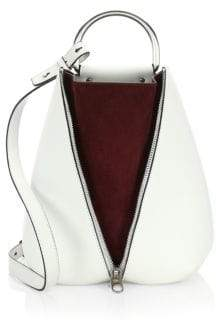 Proenza Schouler Shiny Leather Vertical Zip Backpack