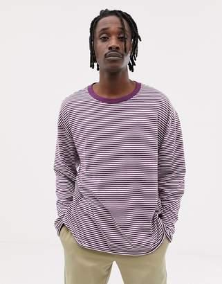 Weekday Per sweatshirt in purple
