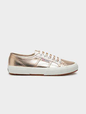 Superga New Womens Cotu Classic Sneakers In Metallic Rose Gold Sneakers