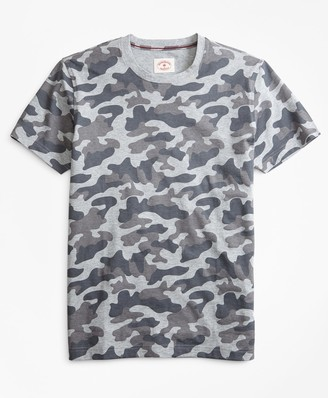 Brooks Brothers Camo-Print Cotton Jersey T-Shirt