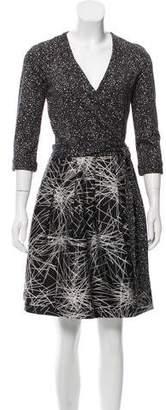 Diane von Furstenberg Jewel Knee-Length Dress