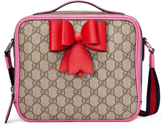 Children's GG Supreme bow messenger $895 thestylecure.com