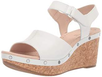 43dada7c02c Clarks White Platform Wedge Women s Sandals - ShopStyle