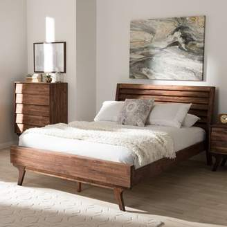 Union Rustic Tion Queen Platform Bed