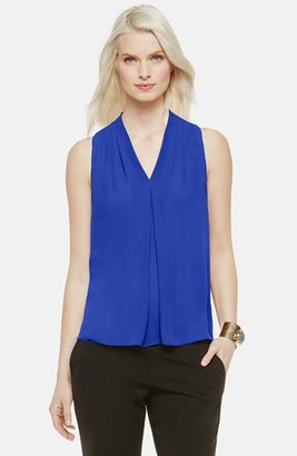 Women's Vince Camuto Sleeveless V-Neck Blouse $69 thestylecure.com