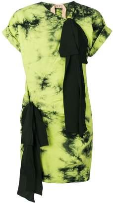 No.21 tie-dye dress