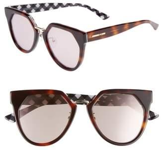 McQ 53mm Cat Eye Sunglasses