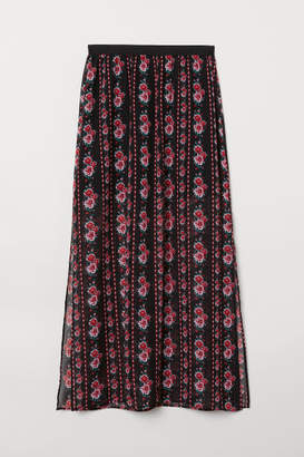 H&M Long Skirt - Black