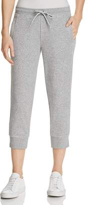 Andrew Marc Performance Terry Cloth Cropped Jogger Pants