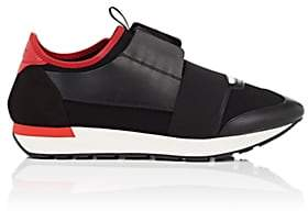 Balenciaga Men's Race Runner Sneakers - Black