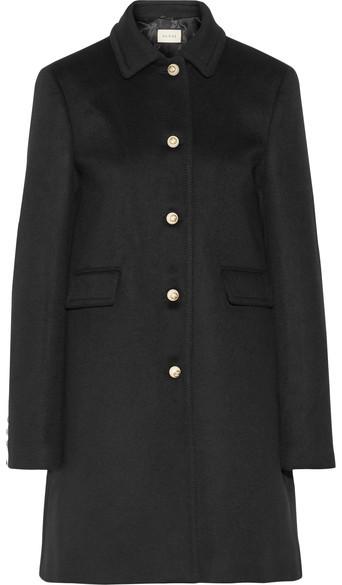 Gucci - Wool Coat - Black