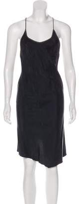 Nicholas K Embellished Silk Dress