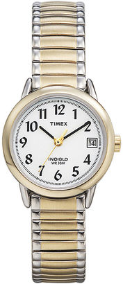 Timex Easy Reader Womens Two-Tone Stainless Steel Expansion Bracelet Watch T2H4919J $54.95 thestylecure.com