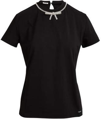 Miu Miu Bow t-shirt