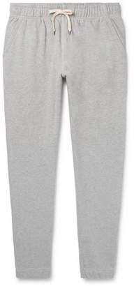 J.Crew Tapered Mélange Loopback Cotton-Jersey Sweatpants