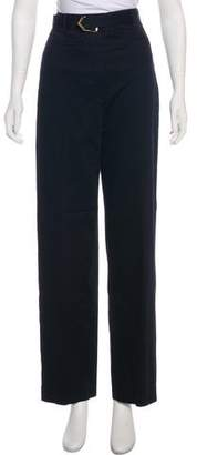 Golden Goose Linen High-Rise Pants