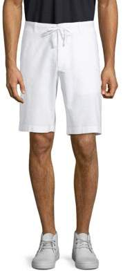 Perry Ellis Drawstring Linen Blend Shorts