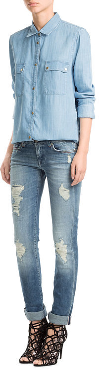 7 For All MankindSeven for all Mankind Distressed Jeans