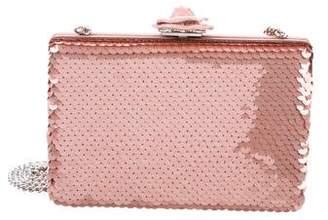 Oscar de la Renta Sequins Evening Bag w/ Tags