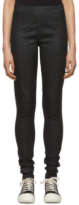 Rick Owens Black Denim Leggings