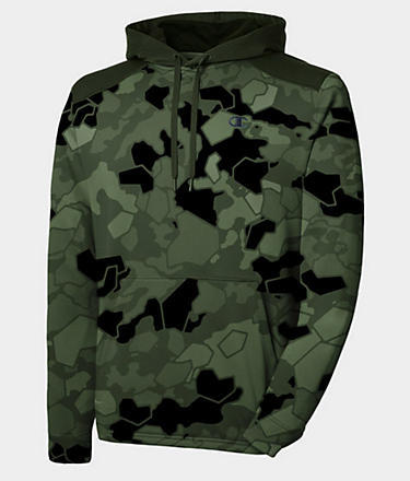 Champion Printed Tech Fleece Pullover Hoodie