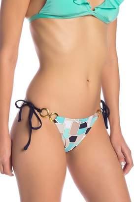 Trina Turk Disco Deco Side Tie Bikini Bottoms