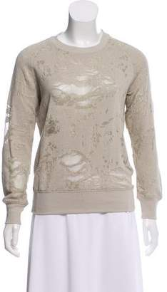 IRO Nona Distressed Sweatshirt