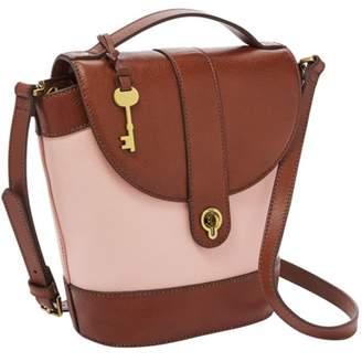 Fossil Clara Bucket Bag Handbags Dusty Rose
