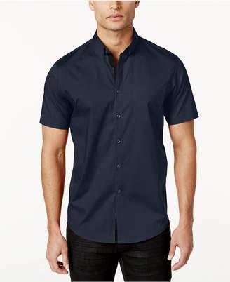 INC International Concepts I.n.c. Men's Short Sleeve Stretch Shirt