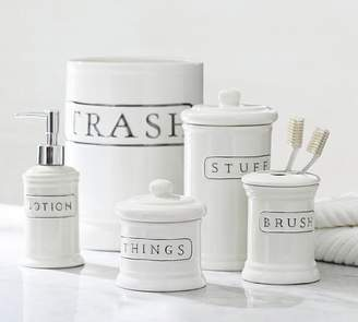 Pottery Barn Small Canister