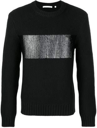 Helmut Lang chunky knit jumper
