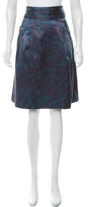 Marc by Marc Jacobs Printed Knee-Length Skirt w/ Tags