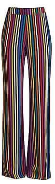 Etro Women's Rainbow Stripe Silk Pants