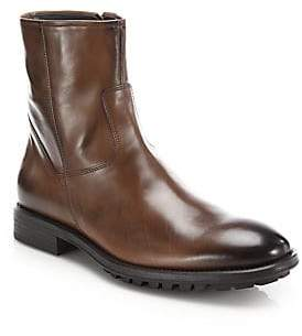 To Boot Men's Harrison Leather Side-Zip Boots