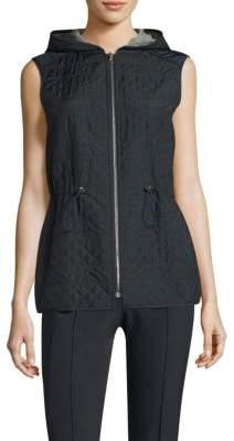 Lafayette 148 New York Ginny Reversible Hooded Vest