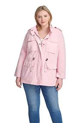 Levi's Women's Plus-Size Parachute Cotton Military Jacket