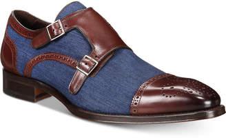 Mezlan Men's Cupido Double-Monk Strap Loafers Men's Shoes