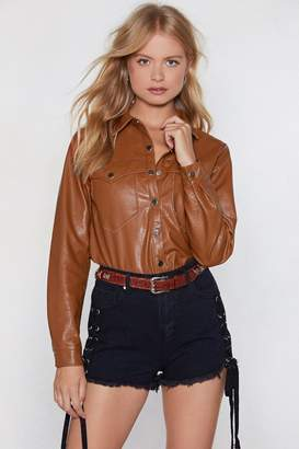 Nasty Gal The West of Luck Western Shirt