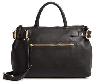 Sole Society Dael Faux Leather Satchel