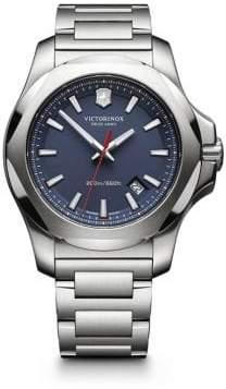 Victorinox I.N.O.X. Stainless Steel Link Bracelet Watch