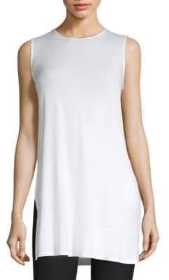 Eileen Fisher Sleeveless Long Tunic