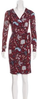 Diane von Furstenberg Julian Silk Wrap Dress