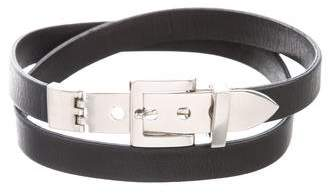 Maison Margiela Leather Buckle Belt w/ Tags